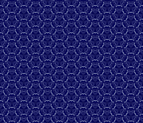 Navy Blue and White Geometric © Gingezel™ 2014