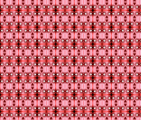 ROSEY  ROBOT ASSEMBLY fabric by bluevelvet on Spoonflower - custom fabric