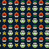Super Brothers - Power Ups Star Mushroom