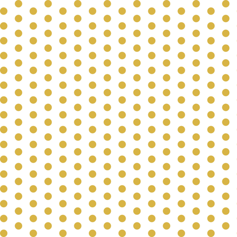 GoldPolkaDots fabric by mrshervi on Spoonflower - custom fabric