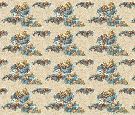lotus fabric by kirpa on Spoonflower - custom fabric