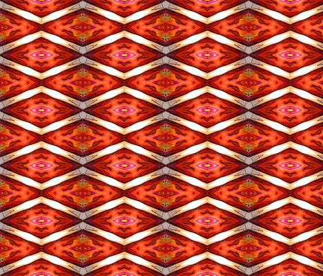 Chevron diamond-Hidden Meanings fabric by koalalady on Spoonflower - custom fabric