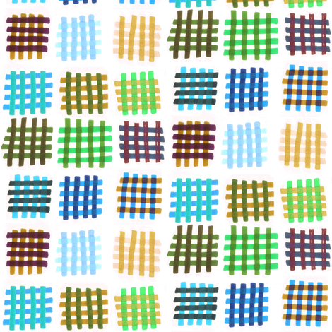 Marker Hash Earth fabric by ravenous on Spoonflower - custom fabric