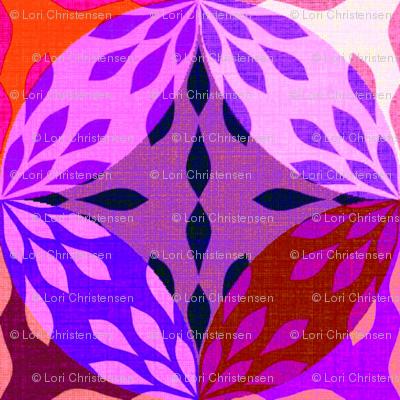 woodcut flower