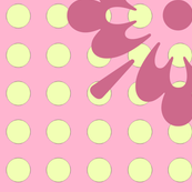 Salmon_and_Yellow_Polka_Dots_with_Flower