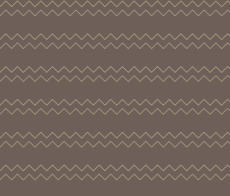 Zigzag in grey fabric by emfaulkner on Spoonflower - custom fabric