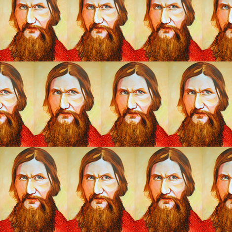 MrRasputin fabric by smwilde on Spoonflower - custom fabric