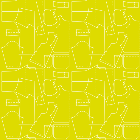 sewing patterns fabric by elinvanegmond on Spoonflower - custom fabric