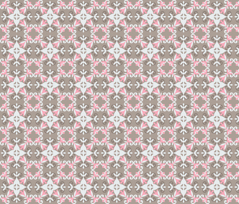Winter Princess fabric by clarissagunn on Spoonflower - custom fabric