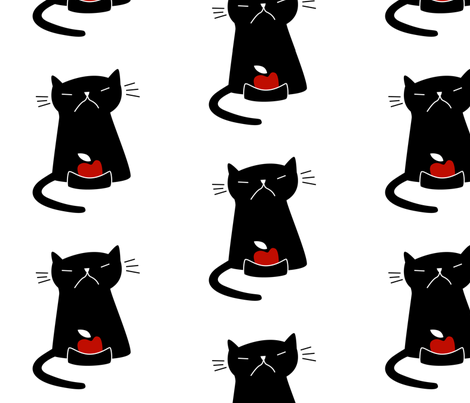 cat3 fabric by elinvanegmond on Spoonflower - custom fabric