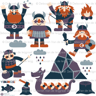 viking wall decals