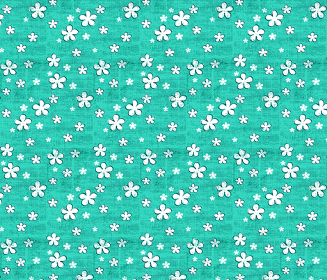 Believe_tone_emerald3-01 fabric by mindsthatcreate on Spoonflower - custom fabric