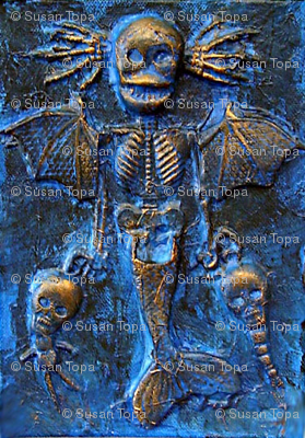 Blue Mermaid Demon