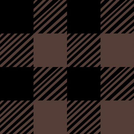 Brown Plaid fabric by pond_ripple on Spoonflower - custom fabric