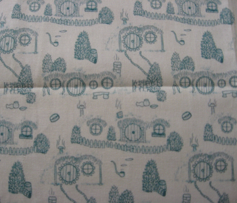 Green Shire Toile