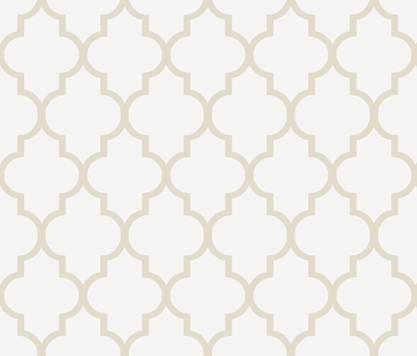 Antique Lace Ogee  fabric by sparrowsong on Spoonflower - custom fabric