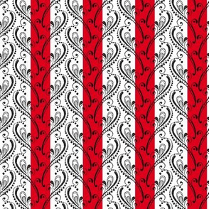 Stripe and Dandy - Red