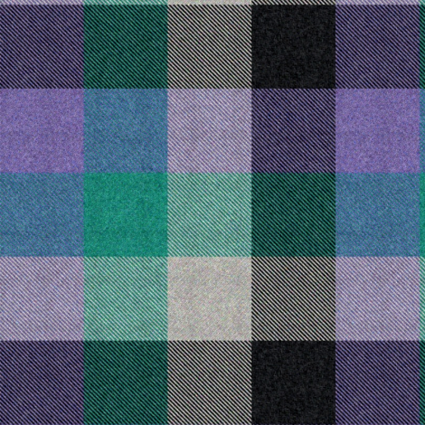 6th Doctor's collar- and pocket tartan