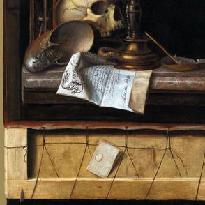 Cornelis Norbertus Gijsbrechts ~ Vanitas