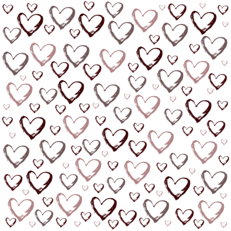 Heart Filled fabric by peacefuldreams on Spoonflower - custom fabric