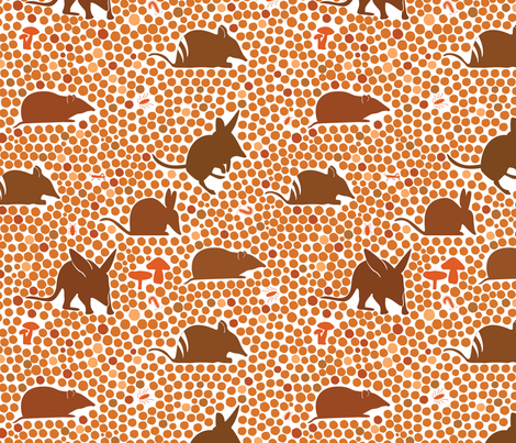 Bilbies and Bandicoots fabric by wildnotions on Spoonflower - custom fabric