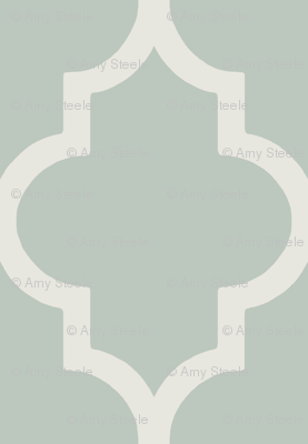 Classic Ogee in Perfect French Gray-Green
