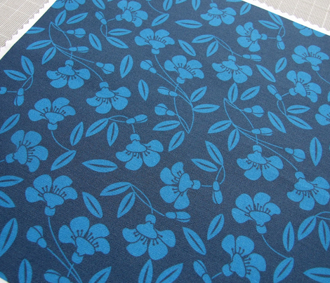 Japanese blossom indigo