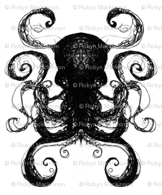 Ink Scratch Octopi 1