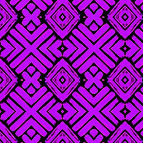 Block Print 4-purple