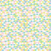 Triangles Pastel Small