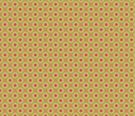 Hakea green small fabric by cjldesigns on Spoonflower - custom fabric