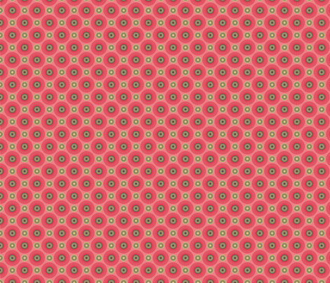 Hakea pink small fabric by cjldesigns on Spoonflower - custom fabric