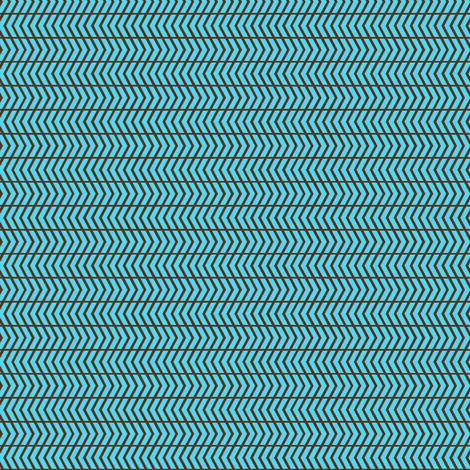 mini chevron blue fabric by cjldesigns on Spoonflower - custom fabric