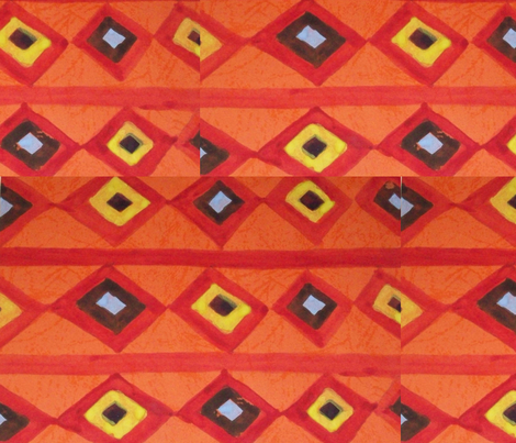 tie and die pattern fabric by rachana on Spoonflower - custom fabric