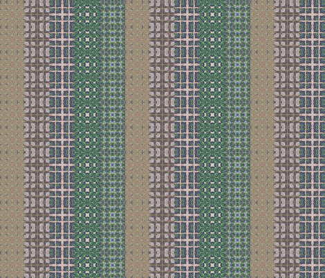Border squares stripes dull fabric by koalalady on Spoonflower - custom fabric
