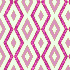 Campanula diagonal stripe