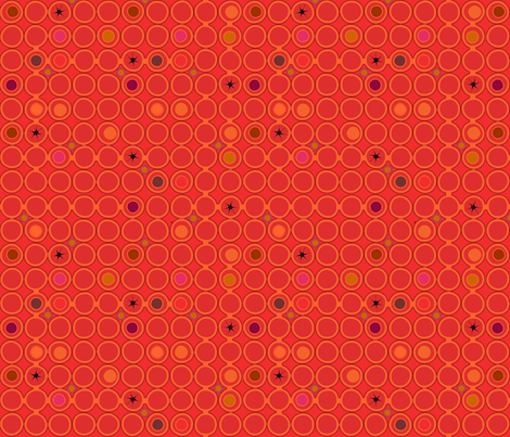 dots_de__la_pomegranate fabric by glimmericks on Spoonflower - custom fabric
