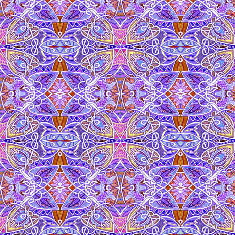 Lavender Spring fabric by edsel2084 on Spoonflower - custom fabric