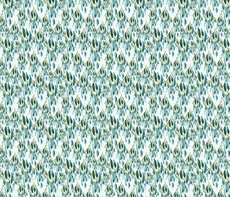 cestlaviv_olive  fabric by cest_la_viv on Spoonflower - custom fabric