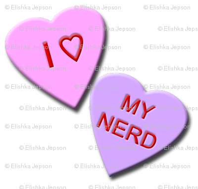 I Heart My Nerd Candy Hearts