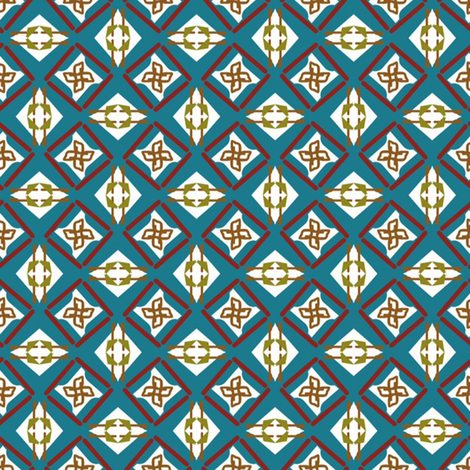 Blue Suit fabric by loriww on Spoonflower - custom fabric