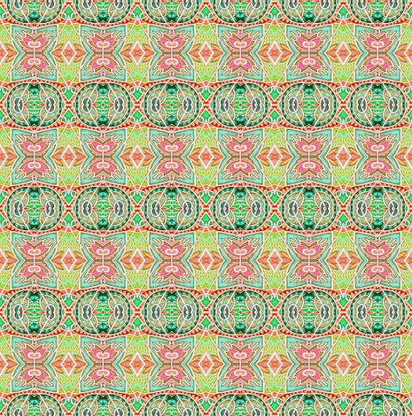 The Day My Plaid Went Mad fabric by edsel2084 on Spoonflower - custom fabric