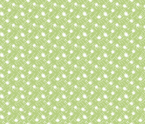 wind blown:dot:B7CF81 fabric by keweenawchris on Spoonflower - custom fabric