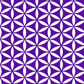 Flower of Life - Indigo