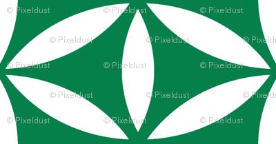 Flower of Life - Emerald