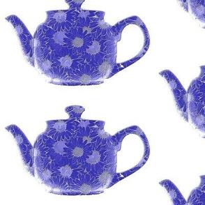 Teapot  Blue