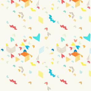 Geometric Watercolour Carnival