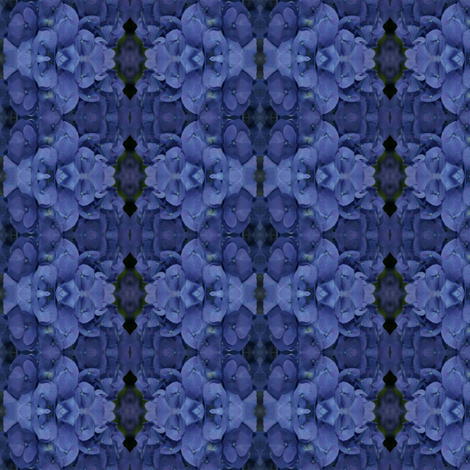 BlaueHortense fabric by nype on Spoonflower - custom fabric