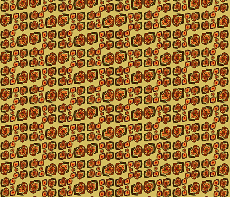 Family Feast fabric by shellyaloha on Spoonflower - custom fabric