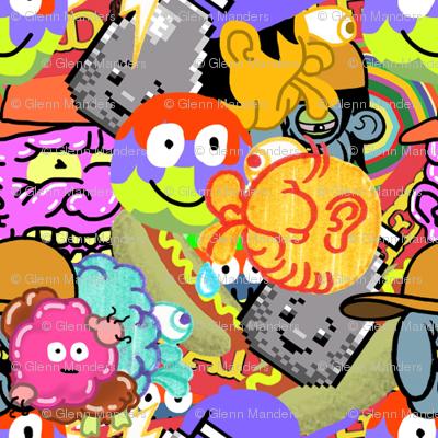 Bad Teeth Crazy Characters